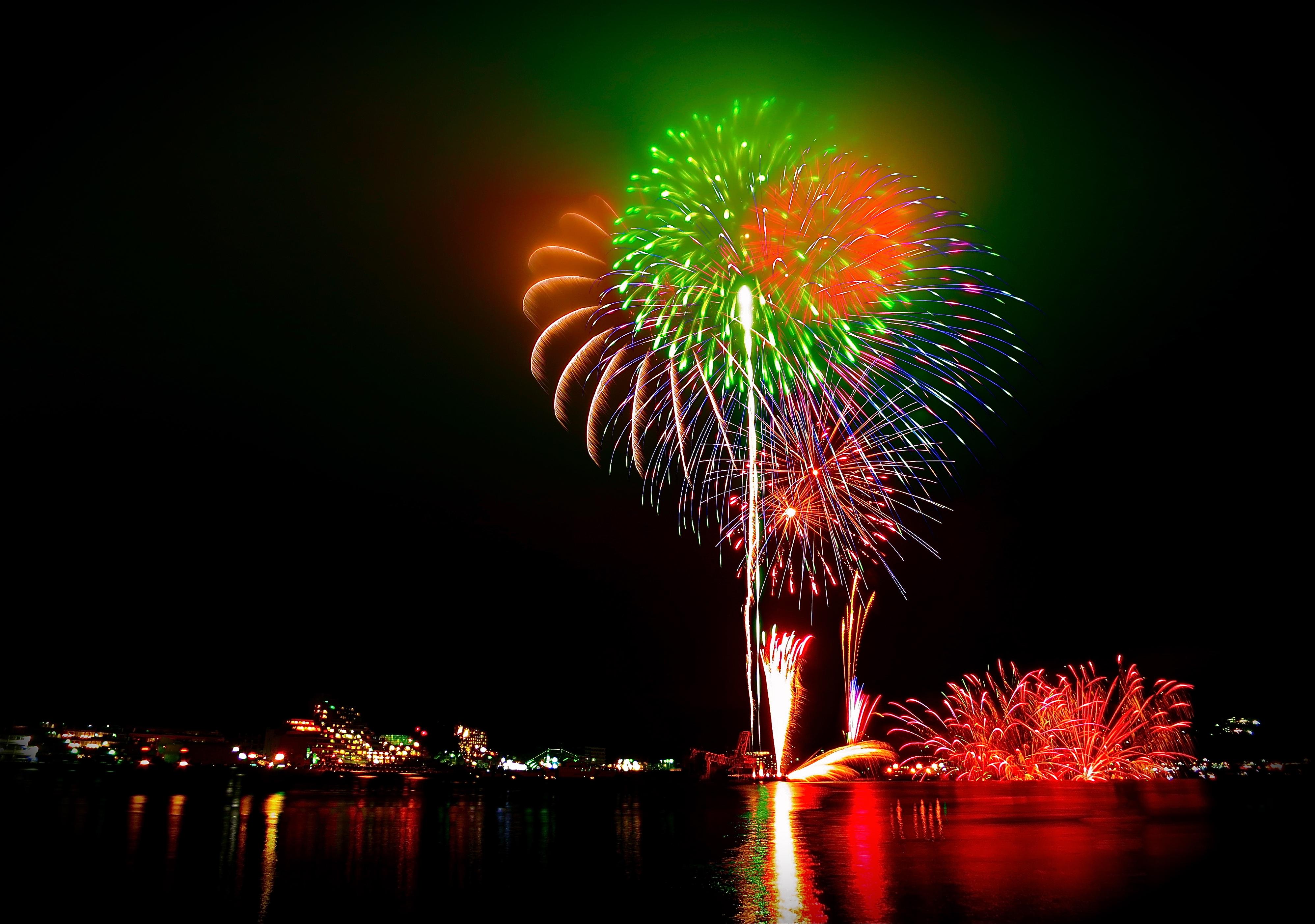 昨日は黒船祭・花火大会でした。