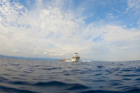 2020.11.12の神子元島 本日は欠航となりました。